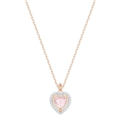 Swarovski One Subtle Heart Necklace