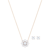 Swarovski Rose Gold Sunshine Set