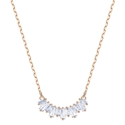 Swarovski Rose Gold Crystal Sunshine Necklace