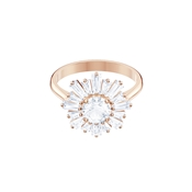 Swarovski Rose Gold Sunshine Ring