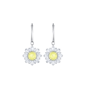 Swarovski Silver Drop Sunshine Earrings