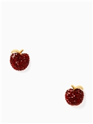 Kate Spade New York Apple Stud Earrings
