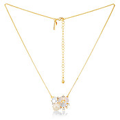 Kate Spade New York Floral Cluster Pendant Necklace