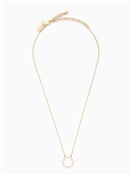 Kate Spade New York Pave Scallop Mini Pendant Necklace