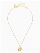 Kate Spade New York Pretzel Mini Pendant Necklace