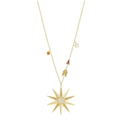 Swarovski Lucky Goddess Gold Star Necklace