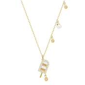 Swarovski No Regrets Ice Lolly Necklace