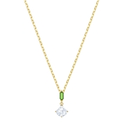 Swarovski Oz Gold & Green Necklace