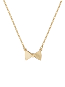 Ted Baker Gold Tengar Tux Bow Necklace