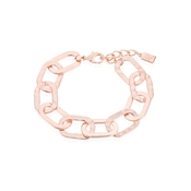 August Woods Rose Gold Chain Link Bracelet