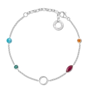 Thomas Sabo Colourful Charm Carrier Bracelet