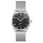 Thomas Sabo Code Black Dial Silver Watch