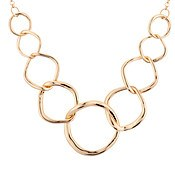 August Woods Gold Circlet Necklace