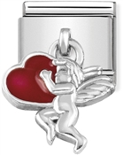 Nomination Cupid Heart Hanging Charm