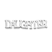 Storie Silver Daughter Charm
