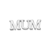 Storie Silver Mum Charm