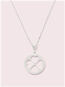 Kate Spade New York Floral Spade Mini Necklace