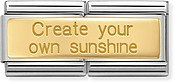 Nomination Create Your Own Sunshine Double Charm
