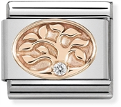 Nomination Rose Gold Tree Of Life Charm