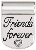 Nomination Silver SeiMia Forever Friends Charm