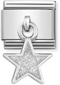 Nomination Glitter Star Hanging Charm