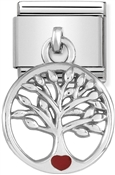 Tree Of Life Hanging Charm  by Nomination