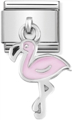 Nomination Flamingo Hanging Charm