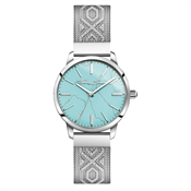 Thomas Sabo Turquoise Textured Strap Watch
