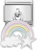 Rainbow Hanging Charm  by Nomination