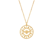Argento Bee Coin Necklace