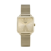 CLUSE La Tetragone Gold Mesh Watch