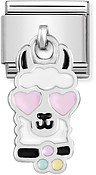 Nomination Llama Head Hanging Charm