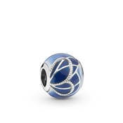 Pandora Blue Butterfly Wing Charm
