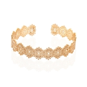 August Woods Gold Antique Lace Cuff