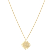 August Woods Gold Mesh Necklace