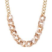 August Woods Marbled Chain Necklace