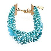 August Woods Turquoise Layered Bracelet