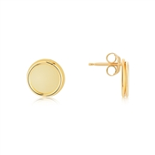 Argento Layered Gold Circle Earrings