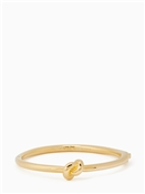 Kate Spade New York Gold Pretzel Bangle