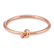 Kate Spade New York Rose Gold Pretzel Bangle