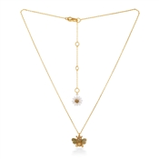 Kate Spade New York Mini Bee + Flower Necklace