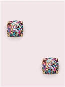 Kate Spade New York Mini Glitter Square Earrings