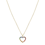 August Woods Rainbow Heart Necklace