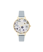 Olivia Burton Artisan Flower Vegan Pale Gold Watch
