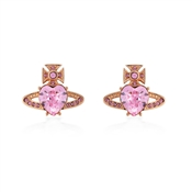 Vivienne Westwood Rose Gold Ariella Earrings