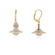 Vivienne Westwood Lena Drop Gold Earrings