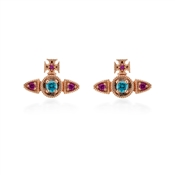 Vivienne Westwood Mairi Rose Gold Earrings