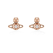 Vivienne Westwood Rose Gold Nora Earrings