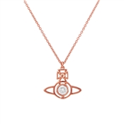 Vivienne Westwood Rose Gold Nora Necklace
