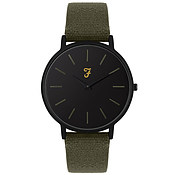 Farah Slim Jim Hopsack Heritage Canvas Watch